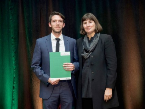 Éric Guay, récipiendaire 2018 de la Bourse SAGE en droit de l'environnement